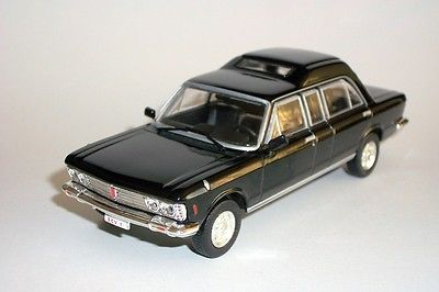 Модель 1:43 FIAT 130 PapaMobile (Papa) Pope - black