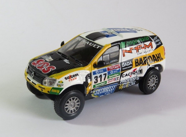 Модель 1:43 DACIA DUSTER №317 Rally Dakar