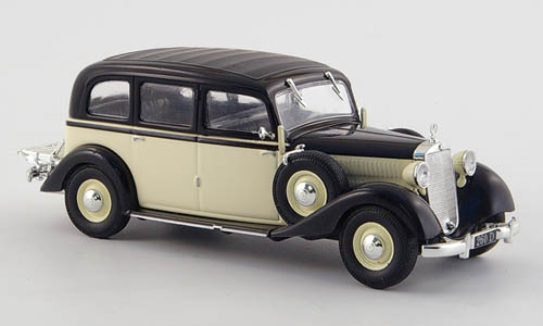 Модель 1:43 Mercedes-Benz 260 D Pullman (W189) - cream/black