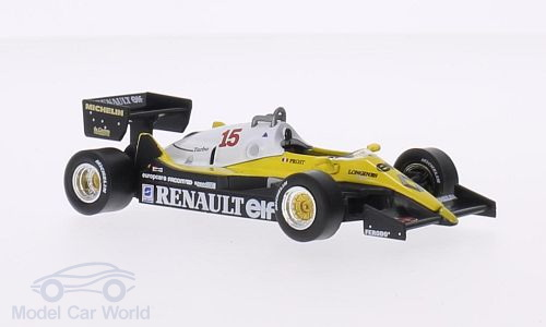 Модель 1:43 Renault RE 40 №15 «Elf» (Alain Prost)