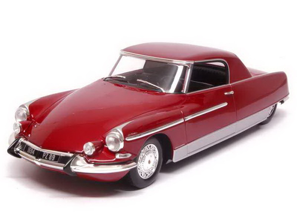 Модель 1:18 Citroen DS 19 Chapron Coupe Le Dandy - red