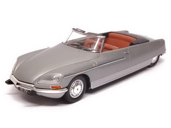 Модель 1:18 Citroen DS21 Chapron Cabrio Palm Beach 1968 - grey