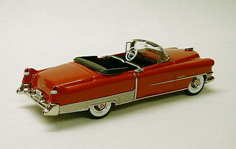 Модель 1:43 Cadillac Series 62 Convertible Red w/Black interior and Black boot