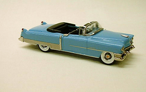 Модель 1:43 Cadillac Series 62 Convertible Blue w/Black interior and Black Boot