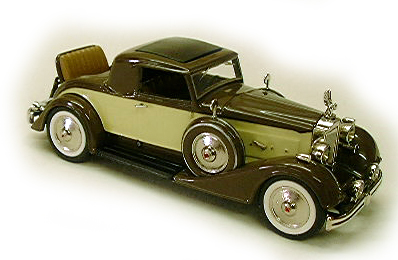 Модель 1:43 Packard Rumble SEAT Coupe - brown/cream