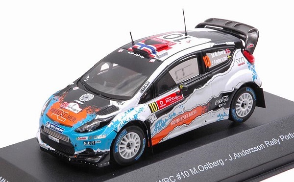 Модель 1:43 Ford Fiesta WRC #10 Winner Rally Portugal 2012 Ostberg - Andersson