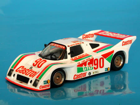 Модель 1:43 URD BMW №90 Gr.C Le Mans (David Mercier - Jens Winther - Lars Viggo)