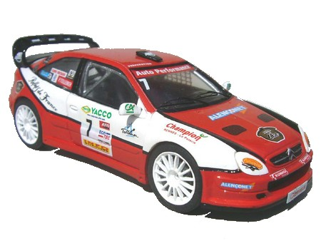 Модель 1:43 Citroen Xsara Type WRC Rally CROSS D`ESSAY №7 TOLLEMER KIT