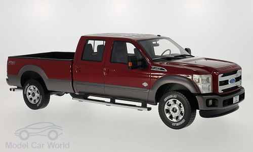 Модель 1:18 Ford F 350 King Ranch - red 2016