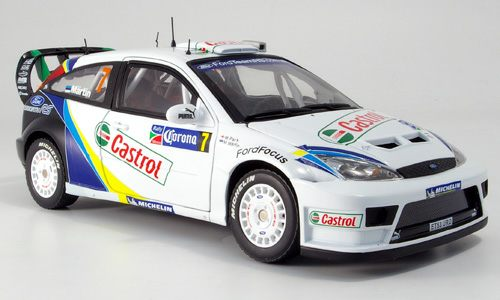 Модель 1:18 Ford Focus WRC Mexico (M.Martin)