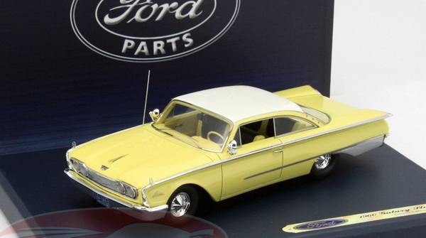 Модель 1:43 Ford Starliner Galaxie - yosemite yellow/white