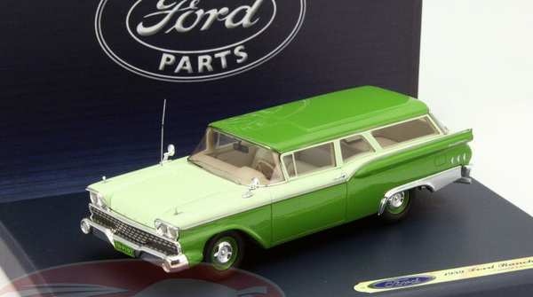 Модель 1:43 Ford Ranch Wagon - 2-tones green