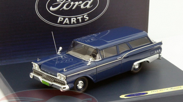 Модель 1:43 Ford Ranch Wagon - dark blue