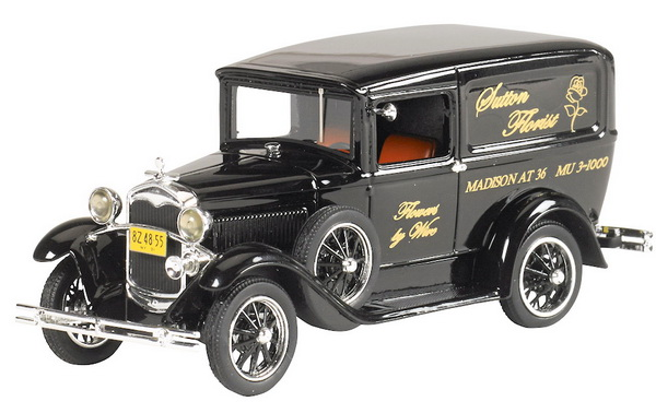 Модель 1:43 Ford Model A Van «Sutton Florist» - black