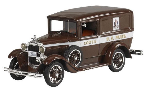 Модель 1:43 Ford Model A Van U.S Mail