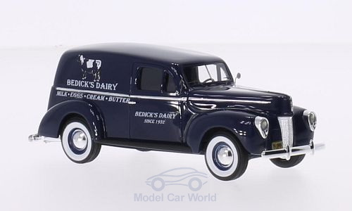 Модель 1:43 Ford Panel Van - Bedicks Dairy