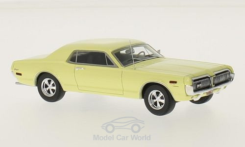 Модель 1:43 Mercury Cougar - yellow