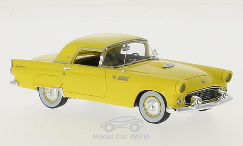 Модель 1:43 Ford Thunderbird Hardtop - Yellow 1955