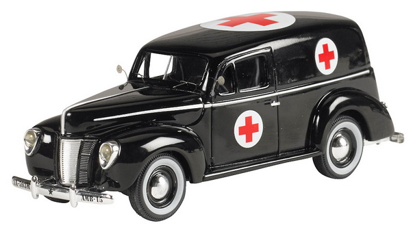 Модель 1:43 Ford Panel Van Ambulance