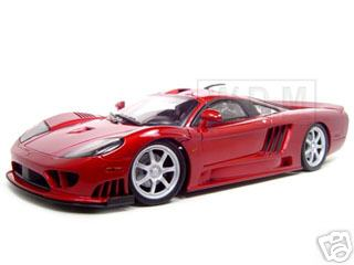 Модель 1:12 Saleen S7 Twin Turbo - red