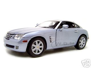 Модель 1:18 Chrysler Crossfire - blue