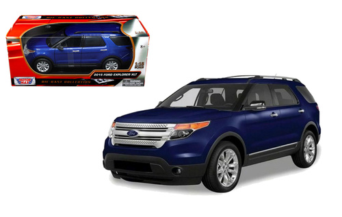 Модель 1:43 Ford Explorer XLT - Blue 2015