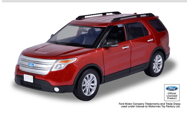Модель 1:43 Ford Explorer XLT - Red 2015