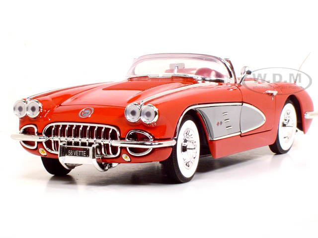 Модель 1:18 Chevrolet Corvette Convertible - Red