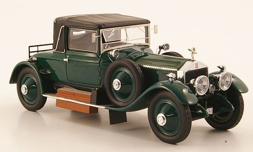 Модель 1:43 Rolls-Royce Silver Ghost DoctorCoupe Dansk 49RE (L.E.500pcs for ModelCarWorld)