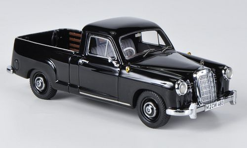 Модель 1:43 Mercedes-Benz 180 (W120) Bakkie - black (L.E.300pcs for ModelCarWorld)