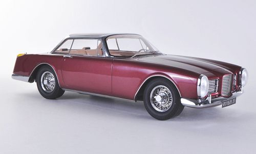 Модель 1:18 Facel-Vega Facel II - dark red met