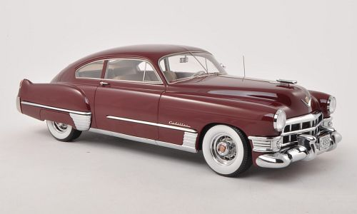 Модель 1:18 Cadillac Series 62 Club Coupe Sedanette - dark red