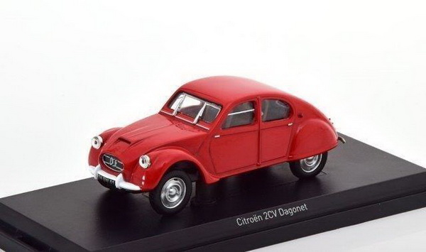 Модель 1:43 Citroen 2CV Dagonet - red