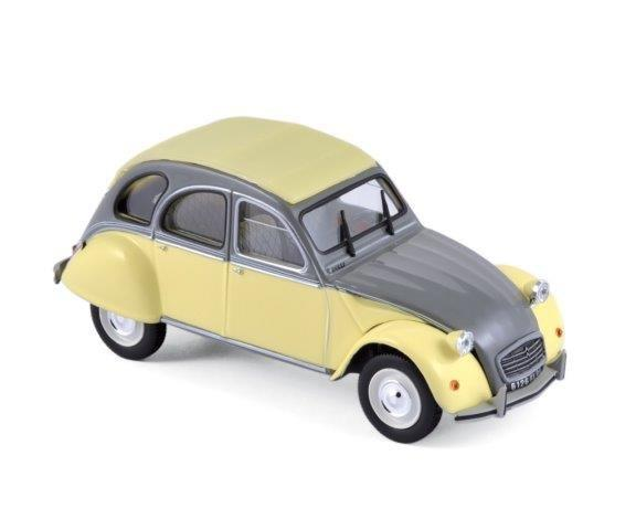 Модель 1:43 Citroen 2CV Dolly - rialto yellow/cormoran grey