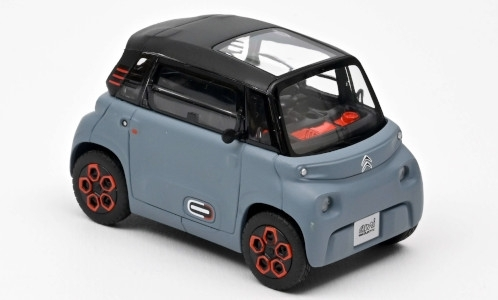 Модель 1:43 Citroen Ami 100% electric 2020 - mat.grey/orange