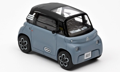 Модель 1:43 Citroen Ami 100% electric 2020 - mat.grey/light blue