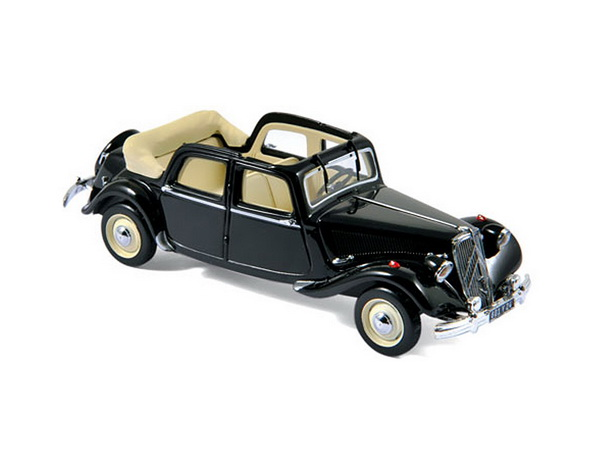 Модель 1:43 Citroen Traction 15 Six Découvrable A.E.A.T - black