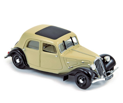 Модель 1:43 Citroen Traction 7C - beige/black