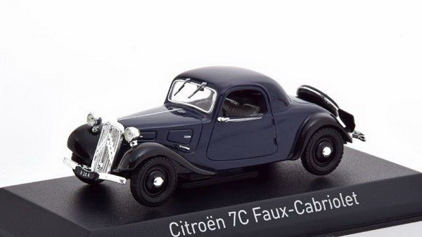 Модель 1:43 Citroen Traction 7C Faux Cabriolet - dark blue