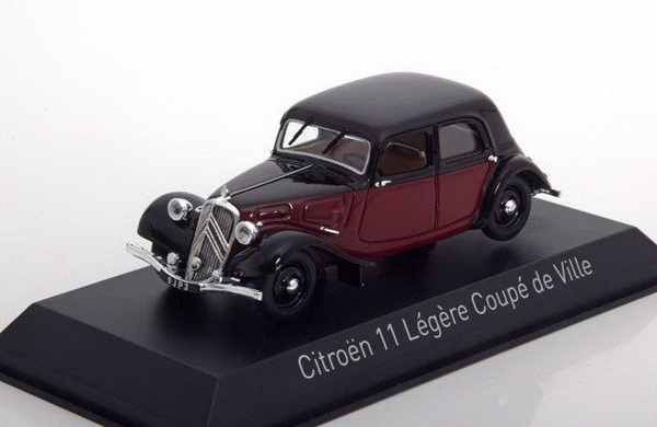 Модель 1:43 Citroen 11 Legere Coupé de Ville 1935 Dark Red/Black