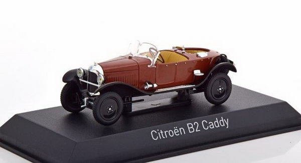 Модель 1:43 Citroen B2 Caddy - maroon