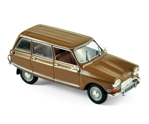 Модель 1:43 Citroen Ami 6 Club Break - dark gold