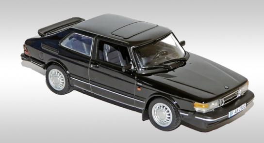 Модель 1:43 Saab 900 Coupe Turbo 16 - black