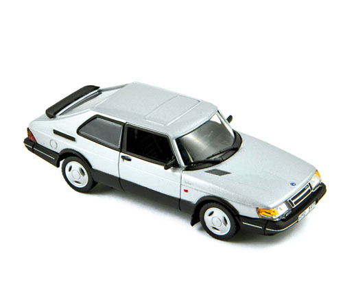 Модель 1:43 Saab 900 Turbo 16S Coupe - silver