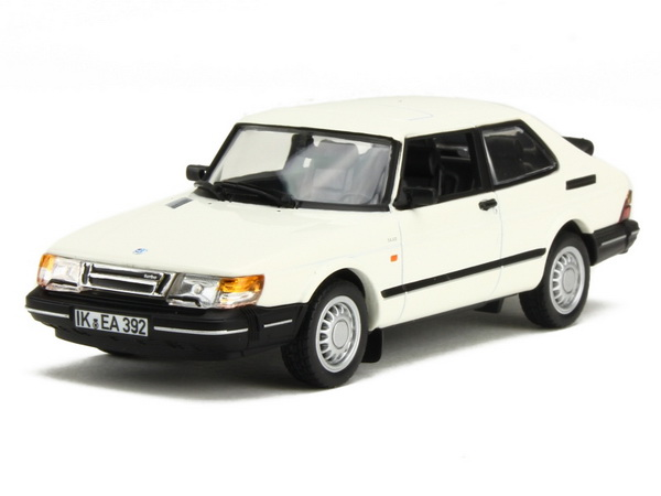 Модель 1:43 Saab 900 Coupе Turbo 16S 1991 White