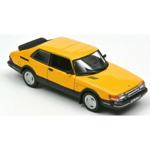 Модель 1:43 SAAB 900 Turbo 16 1992 Yellow