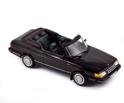 Модель 1:43 Saab 900 Turbo Cabrio - black