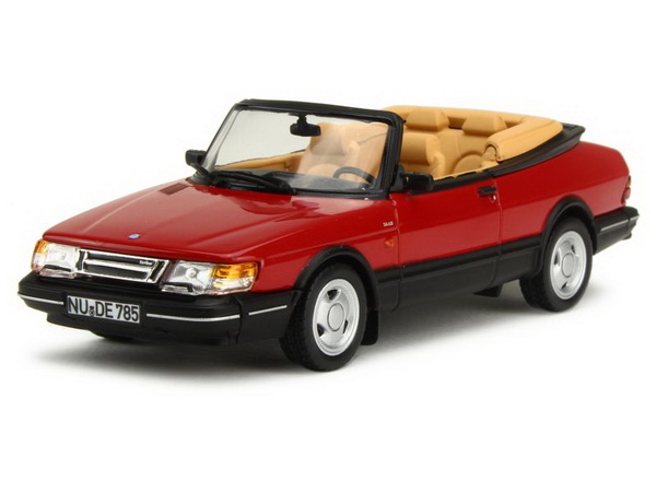 Модель 1:43 Saab 900 Cabriolet Turbo 16S 1992 Red