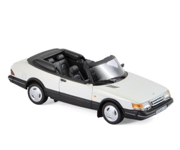 Модель 1:43 Saab 900 Turbo 16 Cabriolet 1992 White
