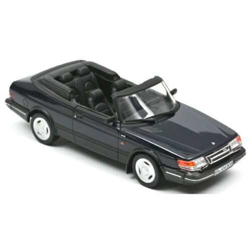 Модель 1:43 SAAB 900 Turbo 16 Cabriolet 1992 Dark Blue